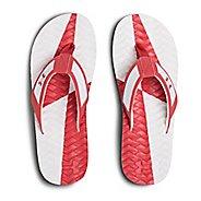 Mens Under Armour Marathon Key III T Sandals Shoe - Red/Grey/White 11