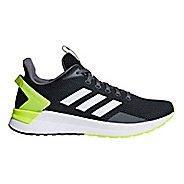 Mens adidas Questar Ride Running Shoe - Carbon/White/Yellow 10.5