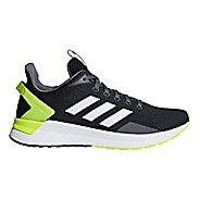 Mens adidas Questar Ride Running Shoe - Carbon/White/Yellow 13.5