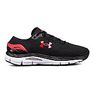 Mens Under Armour Speedform Intake 2 Running Shoe - Black/Pierce 13