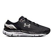 Mens Under Armour Speedform Intake 2 Running Shoe - Black/Grey/Silver 10.5