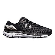 Mens Under Armour Speedform Intake 2 Running Shoe - Black/Grey/Silver 13