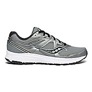 Mens Saucony Grid Cohesion 11 Running Shoe - Gunmetal/Black 10.5