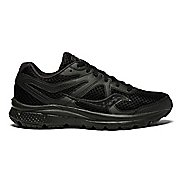Womens Saucony Grid Cohesion 11 Running Shoe - Black/Black 10.5