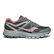 Womens Saucony Grid  Cohesion TR11 Running Shoe - Grey/Peach 7