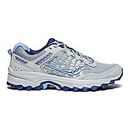 Womens Saucony Excursion TR12 Running Shoe - Grey/Blue 10