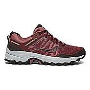 Womens Saucony Excursion TR12 Running Shoe - Burgundy/Grey 7