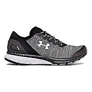 Womens Under Armour Charged Escape Running Shoe - Black/Black/White 7.5