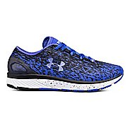 Womens Under Armour Charged Bandit 3 Ombre Running Shoe - Blue/Black/Blue 10.5
