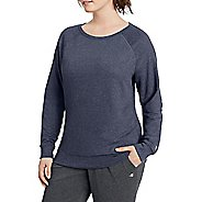 3d69c80c3525d Womens Champion Plus French Terry Top Short Sleeve Technical Tops - Navy  Heather XXXL