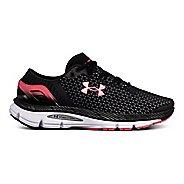 Womens Under Armour Speedform Intake 2 Running Shoe - Black/Steel 9