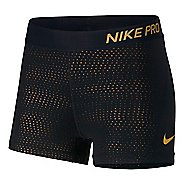 "Womens Nike Pro Metallic Dots 3"" Compression & Fitted Shorts"