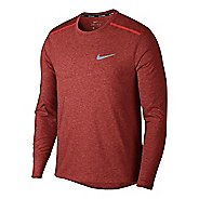 Mens Nike Breathe Rise 365 Long Sleeve Technical Tops