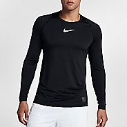 Mens Nike Pro Fitted Long Sleeve Technical Tops