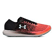 Mens Under Armour Threadborne Blur Running Shoe - Coral/Black/Blue 12.5