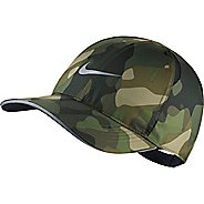 Mens Nike Featherlight Camo Cap Headwear
