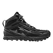 Womens Altra Lone Peak 4.0 Mid Mesh Trail Running Shoe - Teal/Grey 7.5