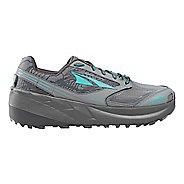 Womens Altra Olympus 3.0 Trail Running Shoe - Grey/Teal 12