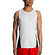 Mens Brooks Stealth Singlet Sleeveless and Tank Technical Tops
