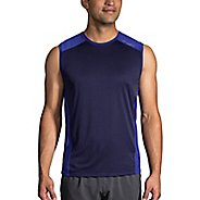 Mens Brooks Stealth Sleeveless and Tank Technical Tops