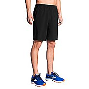 Mens Brooks Go-To 9-inch Unlined Shorts - Black M