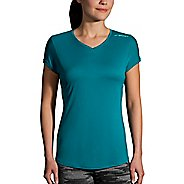 Womens Brooks Stealth Short Sleeve Technical Tops