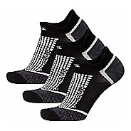 Zensah Grit No-Show Running 3 Pack Socks