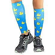 Zensah Rubber Ducky Compression Leg Sleeves Injury Recovery