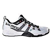 Mens Salming Kobra Court Shoe - White 7.5