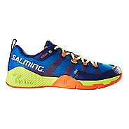 Mens Salming Kobra Court Shoe - Royal/Yellow 14