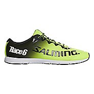 Mens Salming Race 6 Running Shoe - Safety Yellow 10