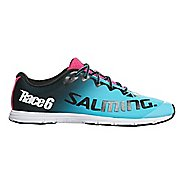 Womens Salming Race 6 Running Shoe - Blue Atoll 8.5