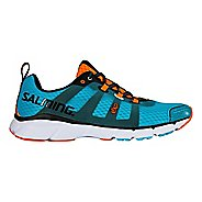 Mens Salming EnRoute2 Running Shoe - Blue Atoll 11