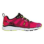 Womens Salming EnRoute2 Running Shoe - Pink Glo 8.5