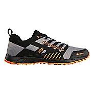Mens Salming Trail T4 Trail Running Shoe - Black/Dark Grey 8.5