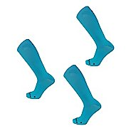 New Balance Running Flat Knit Nylon Crew 3 Pair Socks