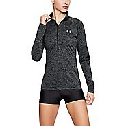 Womens Under Armour Twist Half-Zips & Hoodies Technical Tops