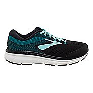Womens Brooks Dyad 10 Running Shoe - Black/Island/Capri 11
