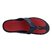 Mens Ventolation Bali Sandals Shoe - Navy/Bright Red 11