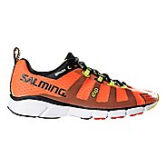 Mens Salming EnRoute Running Shoe - Magma Red 11.5