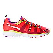 Womens Salming EnRoute Running Shoe - Diva Pink 8.5