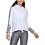 Womens Under Armour ColdGear Novelty Pullover Long Sleeve Technical Tops