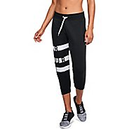 Womens Under Armour Favorite Fleece Capri Graphic Pants
