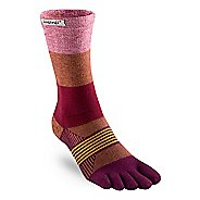Womens Injinji Trail Midweight Crew CoolMax Socks