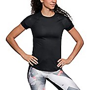 Womens Under Armour HexDelta Shortsleeve Tee Technical Tops