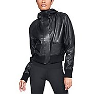 Womens Under Armour Leather Bomber Casual Jackets