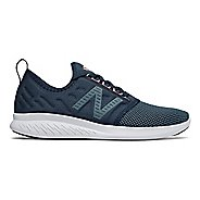 Womens New Balance Fuel Core Coast v4 Running Shoe - Galaxy/Petrol/Pink 9.5