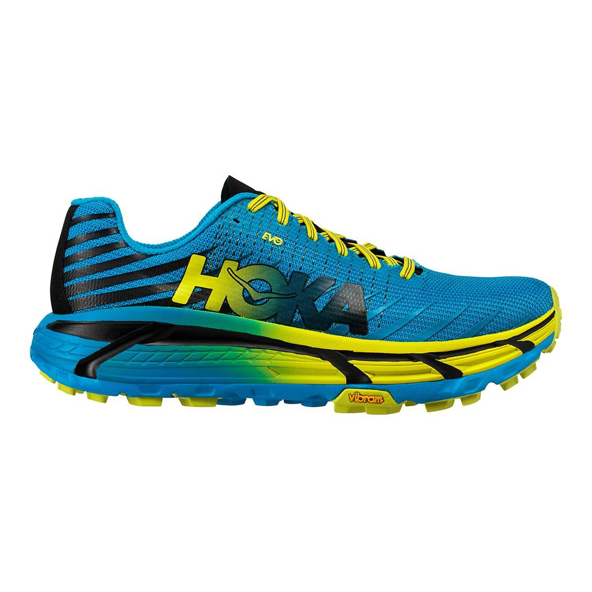 49189aab22f Mens Hoka One One Evo Mafate Trail Running Shoe at Road Runner Sports