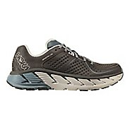 Mens Hoka One One Gaviota LTR Trail Running Shoe - Charcoal/Tradewinds 12