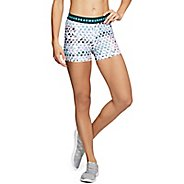 Womens Under Armour HeatGear Printed Shorty Compression & Fitted Shorts